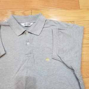 Brooks Brothers Gray Golden Fleece Polo Large
